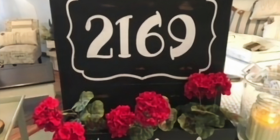 Personalized Flower Box