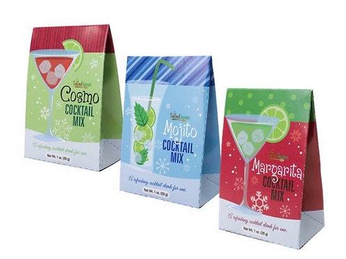 Single serve drink mixes