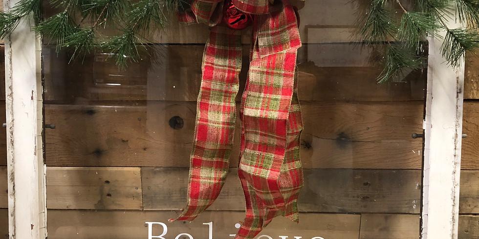 Christmas Barn Windows