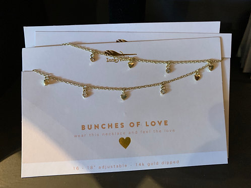 Bunches of love necklace