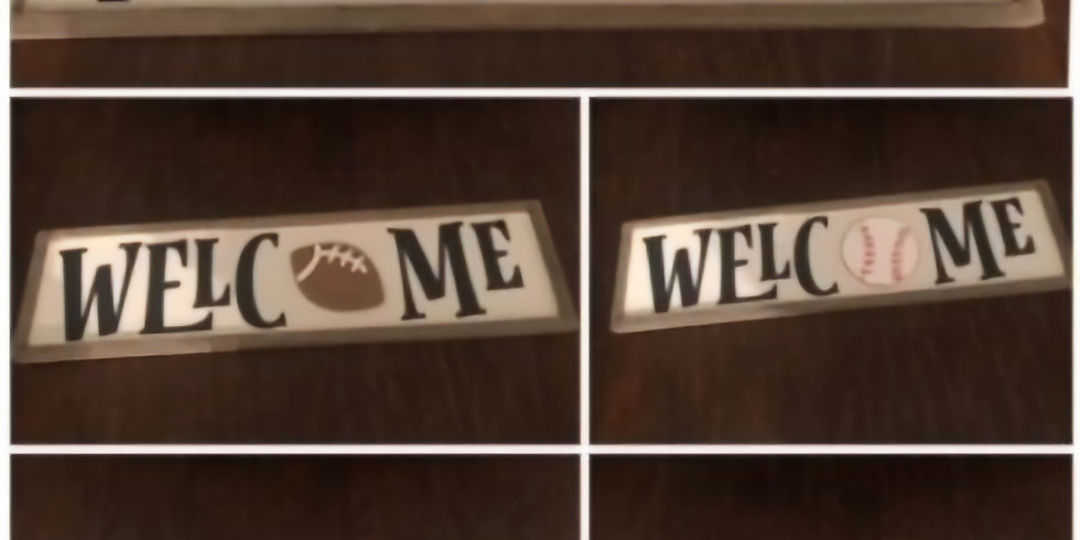 Welcome Sign-