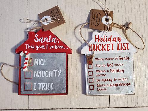 Checkbox Ornaments