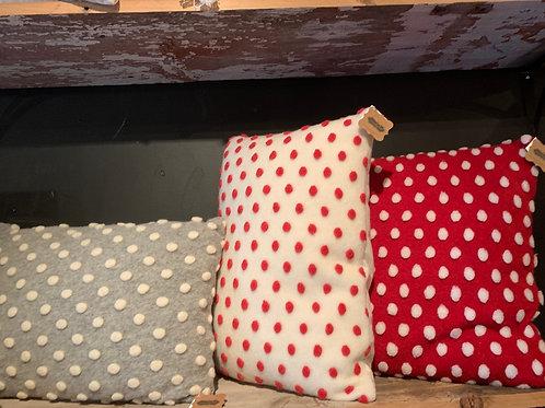 Pom Pom felt pillow