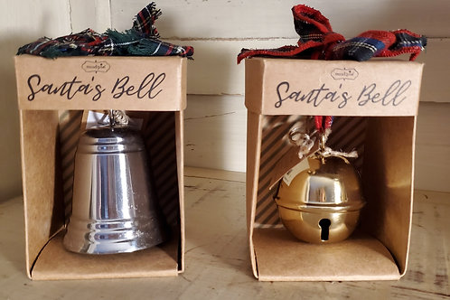 Santa's Bell (gold or silver)