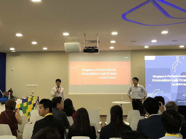 CriAT in Singapore FinTech Festival 2018 | Deep Credit Analytical