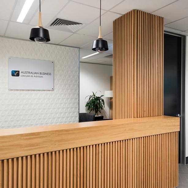 Newcastle Reception Counter
