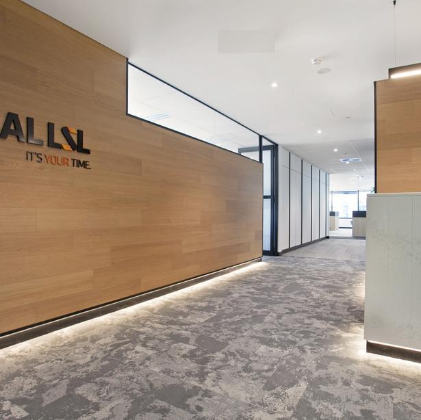 Newcastle Reception Interior Design