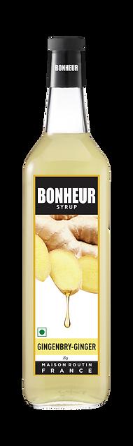 Ginger BONHEUR Label.png