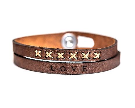 Two Strand Eco Leather Bracelets