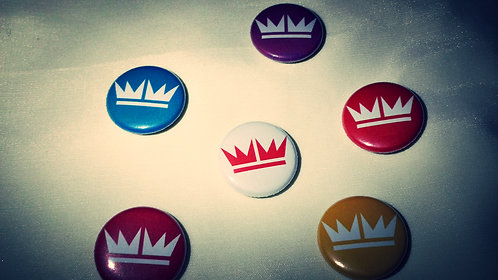 "1"" Crown Buttons"