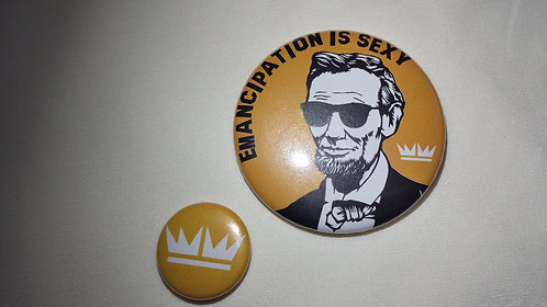 """2"""" Abraham Lincoln Buttons"""