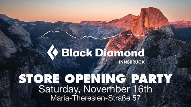 Grand Opening Party / Black Diamond Store Innsbruck