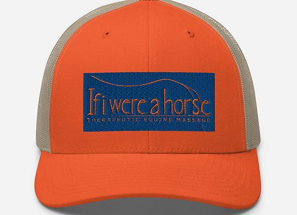 If i were a horse Orange Trucker Cap