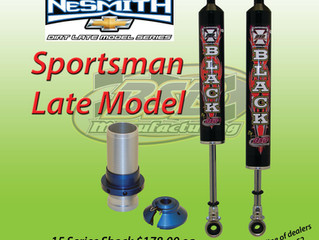 NeSmith Sportsman Late Model 602 Crate shock package.