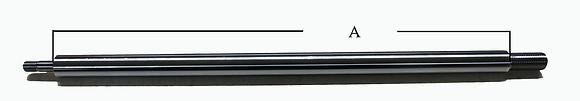 BSB #7540-6  Standard Slider Shaft