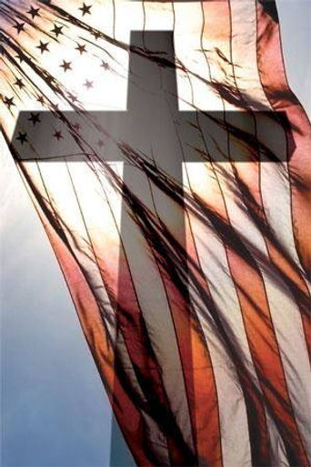 The flag and a cross