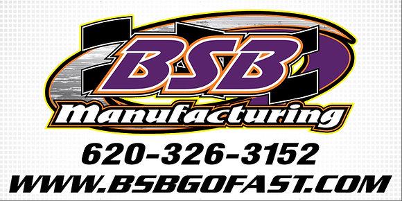 BSB #1801 Car Banner