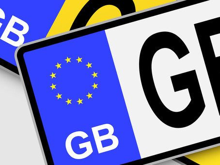 Flags & symbols on number plates - BANNED!