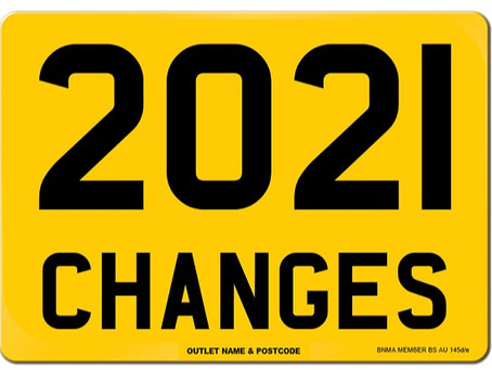 The New British Standard for UK number plates, BS AU 145e