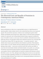The Electoral Costs and Benefits of Feminism in Contemporary American Politics