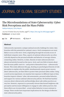 The Micro-foundations of State Cybersecurity: Cyber Risk Perceptions & The Mass Public