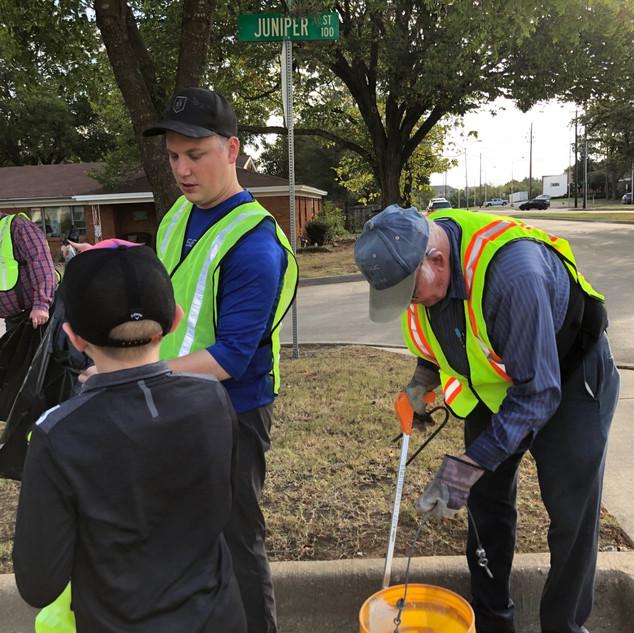 Street Clean-up