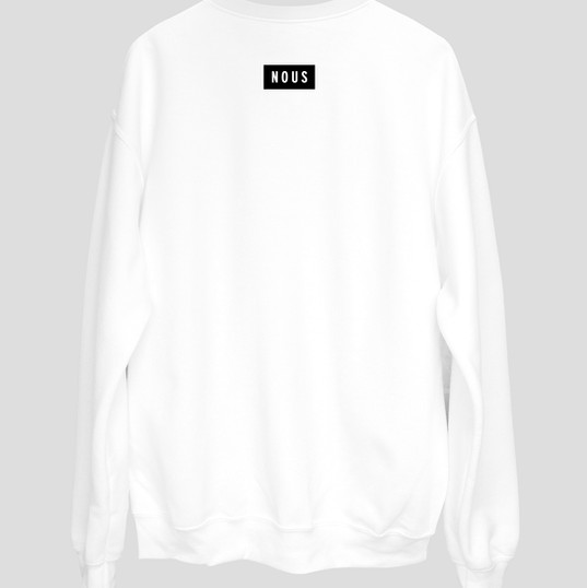 Sweat-shirt blanc