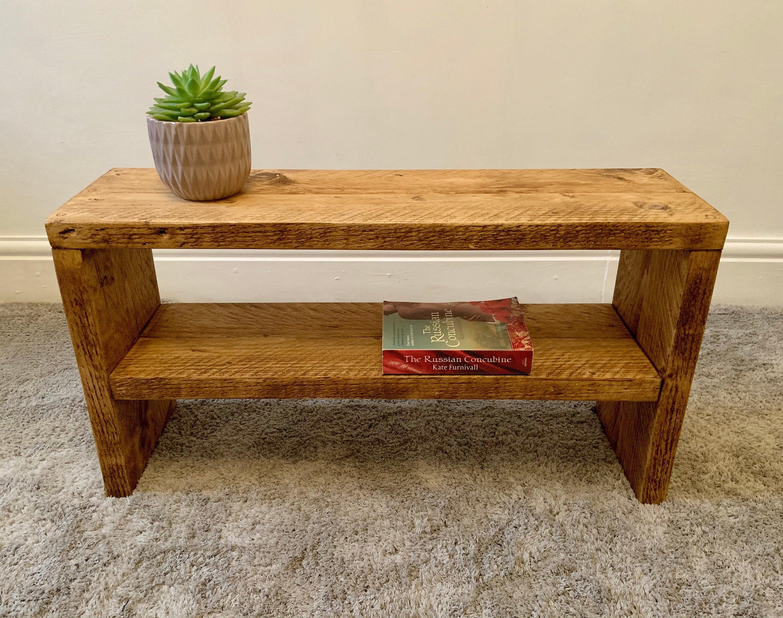 Chunky Wooden Coffee Table Eskdale Lakesshelvingco