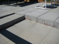 Gardiner Stone patio and stairs 1(a)