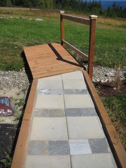 Gardiner stone walkway 1(b)