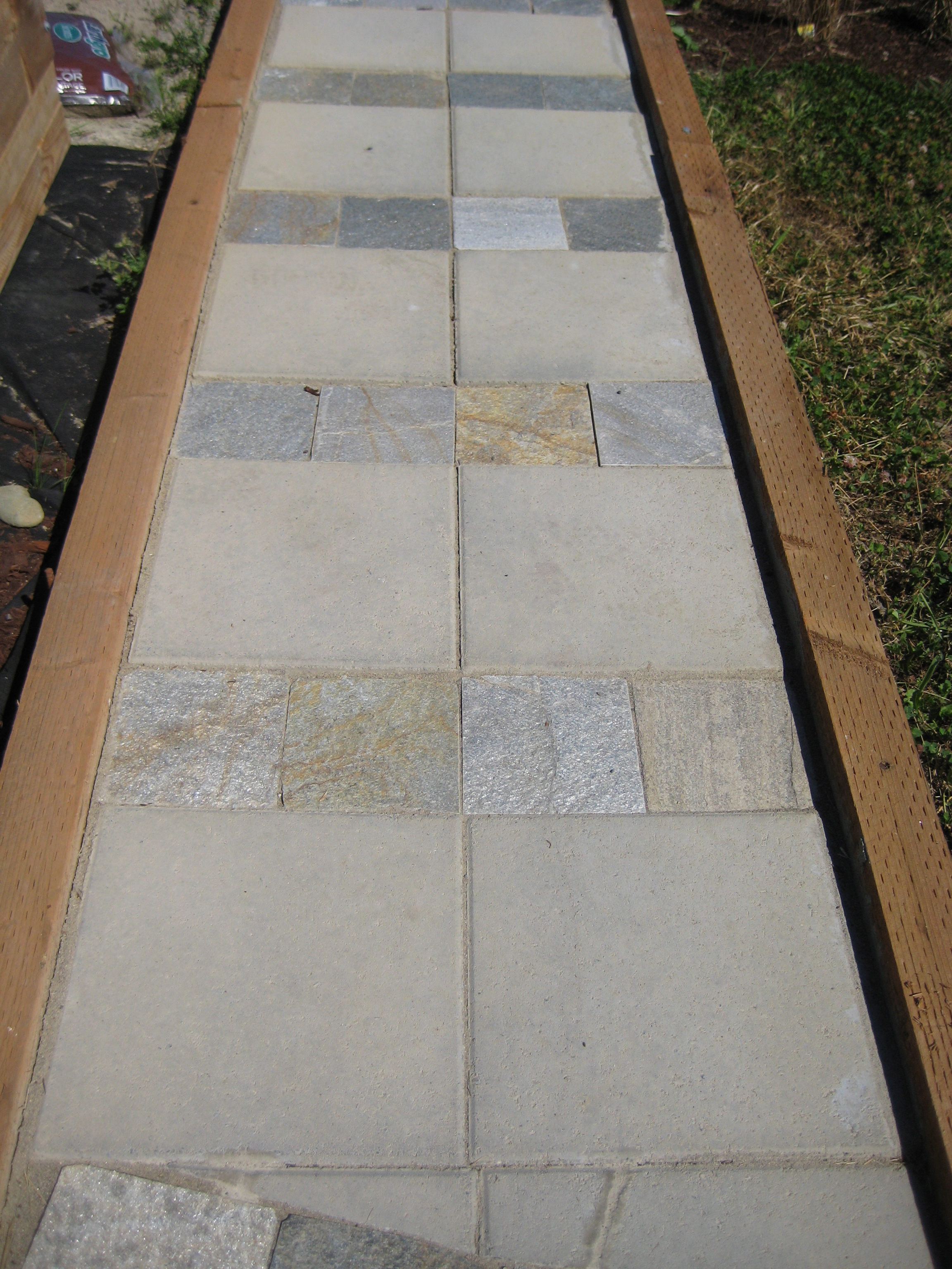 Gardiner stone walkway 1(a)
