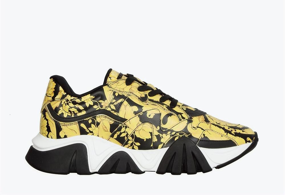 Versace shark sneakers