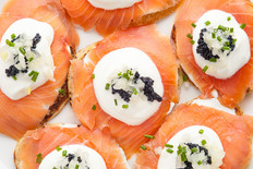 salmon-canapes-with-traditional-russian-