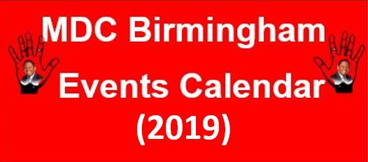 Upcoming Events 2020