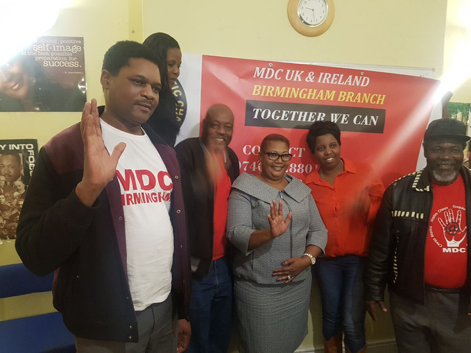 MDC-T Vice President Visits Birmingham