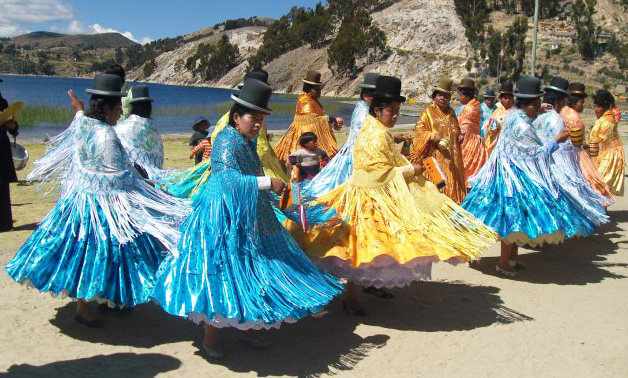 Bolivian Ladies Dance