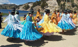 Bolivian Ladies Dance