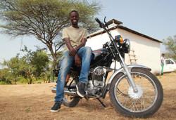 Geta and his Bike
