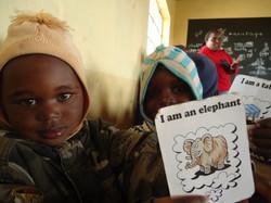 Children in Solio, Kenya