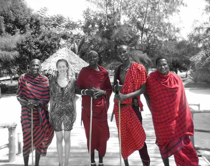 Me and the Maasai