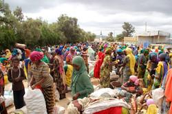 Ladies Selling Mangoes in Harar