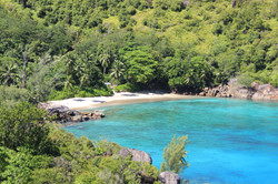 Secluded Beach in the Seychelles