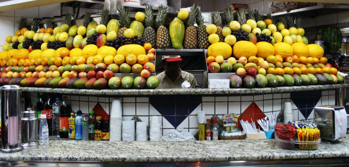 Brazilian Fruit Stall