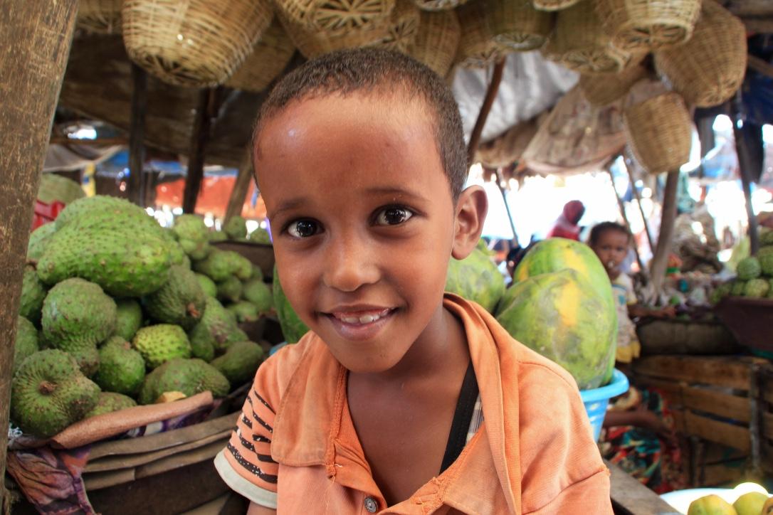 A Boy in Harar