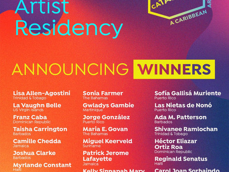 U.S.V.I. Artist La Vaughn Belle Selected For CATAPULT Stay Home Artist Residency