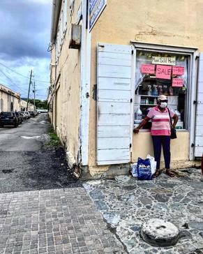 Street Photographer, Clay Jones Documents Covid-19 in Charlotte Amalie, St. Thomas