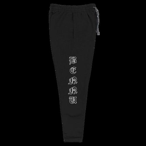 Black/White Unisex Joggers