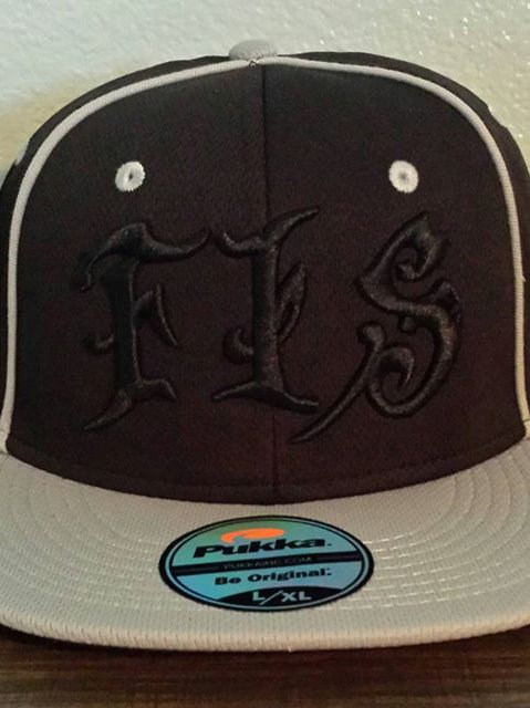 "FIS For Insane Sports ""Blacked Out Ninja"" A-Flex Fit Hat"
