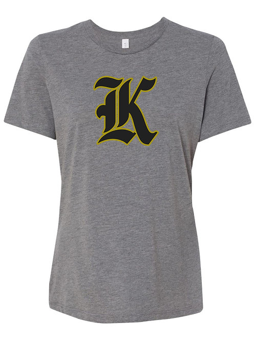 "Kuna ""K"" Womens Relaxed T-Shirt"