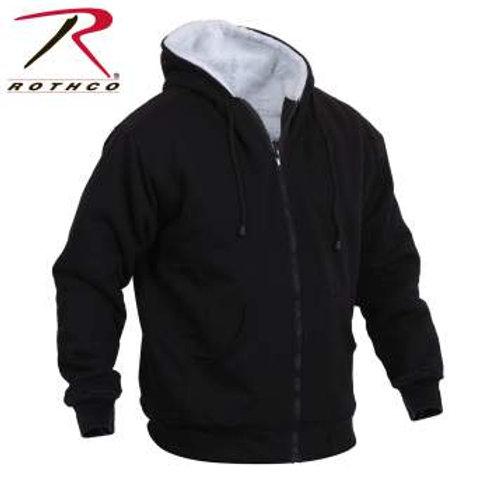Rothco Heavyweight Sherpa Lined Zippered Sweatshirt